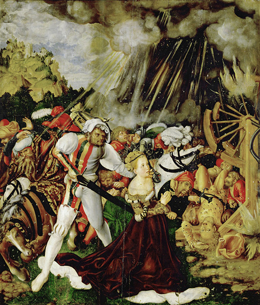 cranach-catherine1508-9