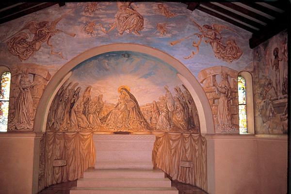 foujita-chapelle-foujita-reims-inside