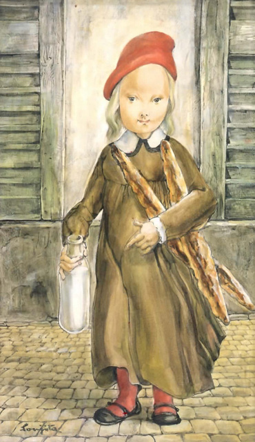 foujita-small-housewife-1956