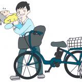 自転車に乗ってくれない2歳時