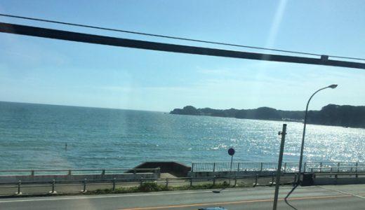 【特急わかしお】で鴨川シーワールドへ!海側の席がおすすめ!