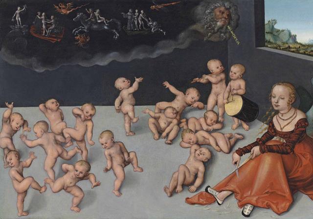 cranach-melancholia1533