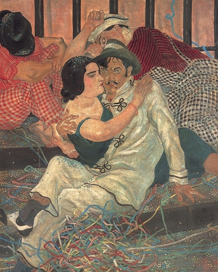foujita-after-carnival-1932