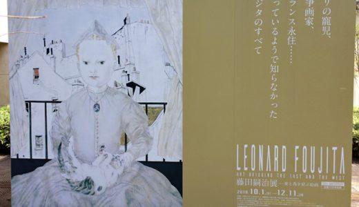 藤田嗣治展(府中市美術館)の感想|乳白色の肌から戦争画、宗教画まで