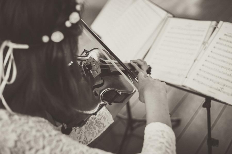 ヴァイオリン 演奏 楽譜