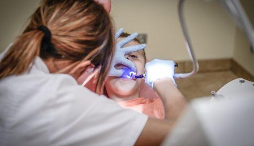 4歳の虫歯予防のためにシーラントを受けてきました。